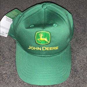 NWT Green John Deere traditional hat